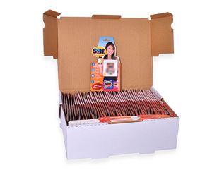 Imagens de Qr Code adesivo Selfmania  em Caixa com 120 Blisters Coração