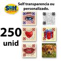Imagens de Qr Code selfmania personalizado com 250 umidades (arquivo enviado por e-mail)