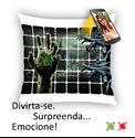 Imagens de Almofada personalizada com vídeo Qr Code Selfmania